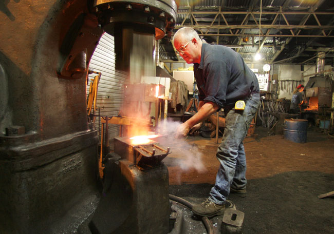 Forging under the hammer